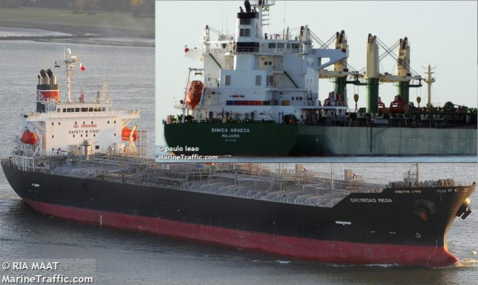Tanker and bulk carrier collided off Singapore, oil leak – Maritime