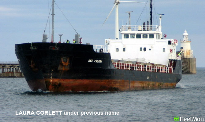 Cargo ship sinking in Cape Verde port salvaged by Spanish
